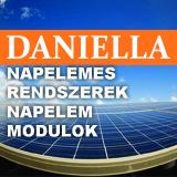Daniella Napelem - Modulok, Rendszerek