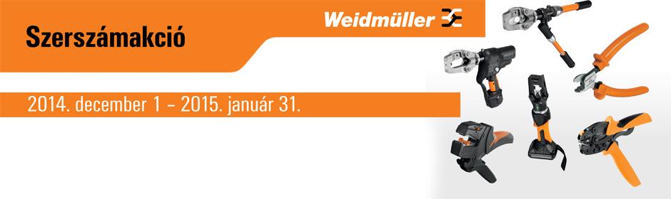 Weidmüller téli szerszámakció